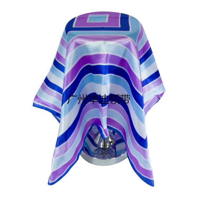 小方巾 时尚丝巾 60方巾 印花丝巾